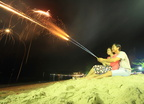 Firework on the beach (8651)